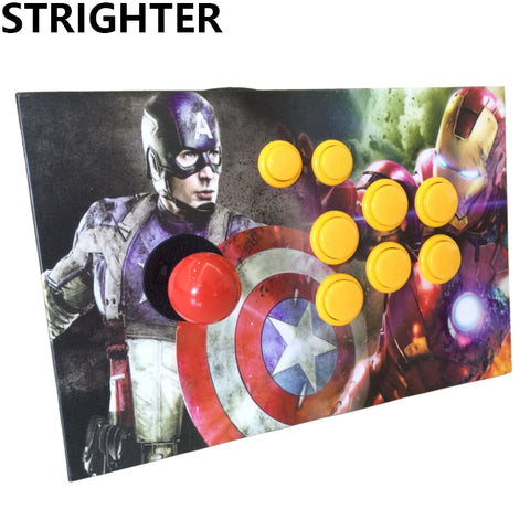 Captain America arcade joystick pc controller computer game Arcade Sticks usb connector