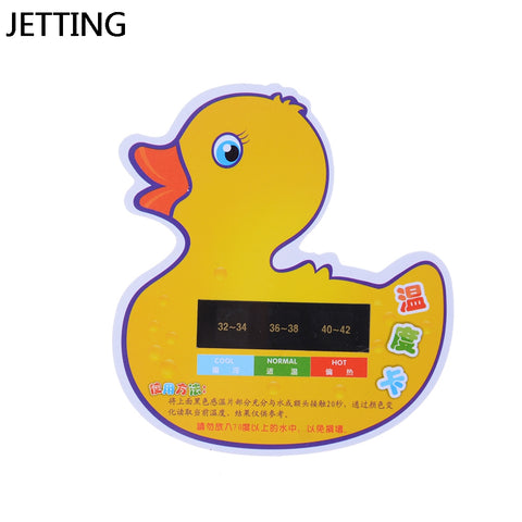 Cartoon LCD Water Temperature Meter Baby Take Shower Thermometer Bath Monitor Tester
