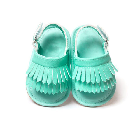 Children PU Tassel Shoes Baby Sandals Summer Leisure Fashion Baby Girls Sandals .
