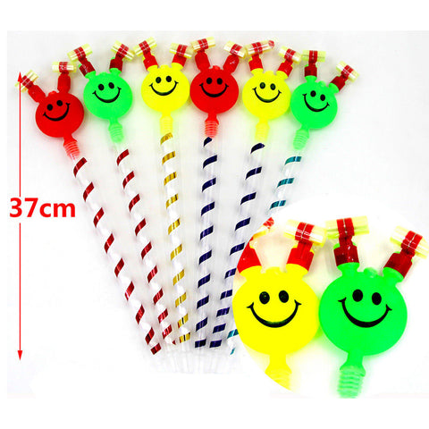 Children Small Toys Smiling Face Whistle Funny Birthday Party Horn Whole .
