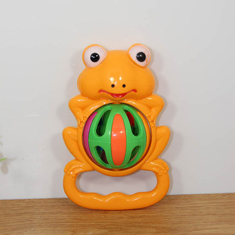 Children's bell infants and young children early education toys cartoon frog bell