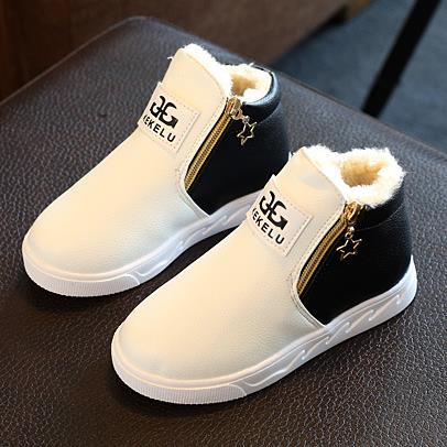 Boots for Boys Children's winter shoes boys girls high quality sneakers fashion australia thicken boots