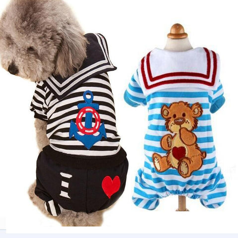 Clearance Dog Clothing Pet Dog Jumpsuit Teddy Poodle Rompers Pet Dress Dog Cat Vest