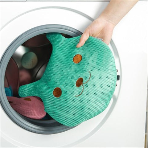 Clothes Washing Machine Laundry Bag With Zipper Bra Underwear Washing Bag .
