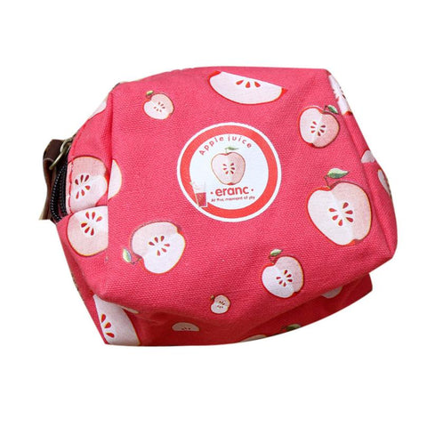 Coin Purses Children Girl Cute Fruit Coin Purse Zipper Wallet Bag Change Pouch Key