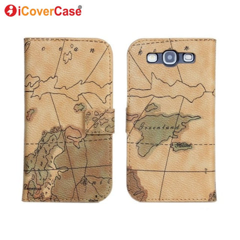 Coque for Samsung S3 Case Fundas for Samsung Galaxy S3 Neo i9300 i9305 Flip Cover Case