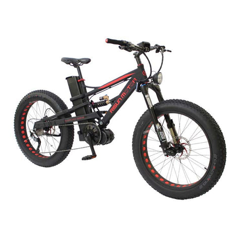 Custom 48v1000w 750w 8fun motor power electric bike 65km/h oil air suspension lithium