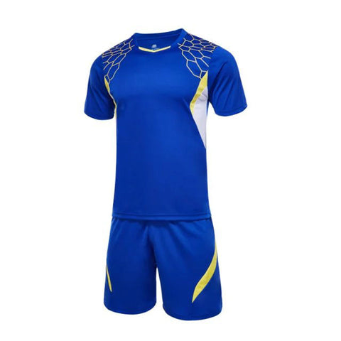 Custom Men's Soccer Jersey Football Uniforms Suit Training Sport Clothes Diy Print