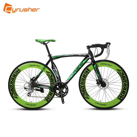 Cyrusher New Updated XC700 700X28C Man's Road Bicycle 14 Speed Aluminum Alloy Frame