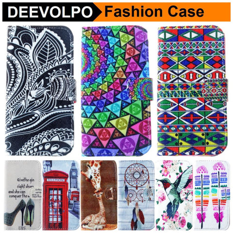 DEEVOLPO View Sketch Fundas For Samsung Galaxy A5 A7 S4 S5 Mini S6 Edge Note 4 Nice