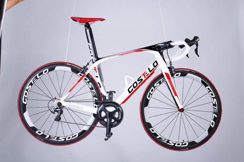 DISCOUNT costelo VENTOUX carbon road bicycle complete cheap road bikes DIY T1000 bicicleta