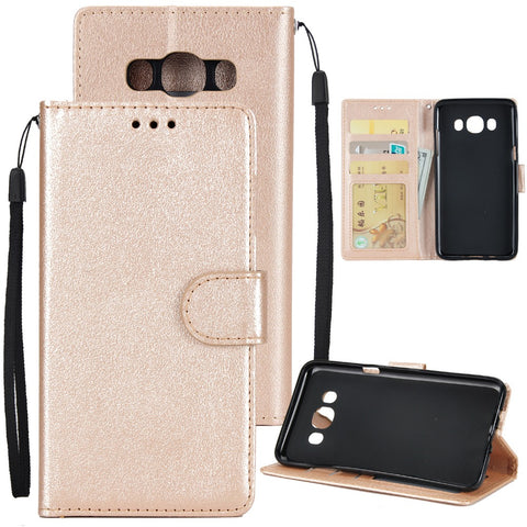 DOITOP For Coque Samsung Galaxy J5 Case Luxury Flip PU Wallet Case Phone Cover For Samsung