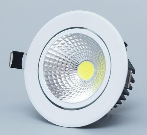 Dimmable Led downlight light COB Ceiling Spot Light 3w 5w 7w 12w 85-265V ceiling