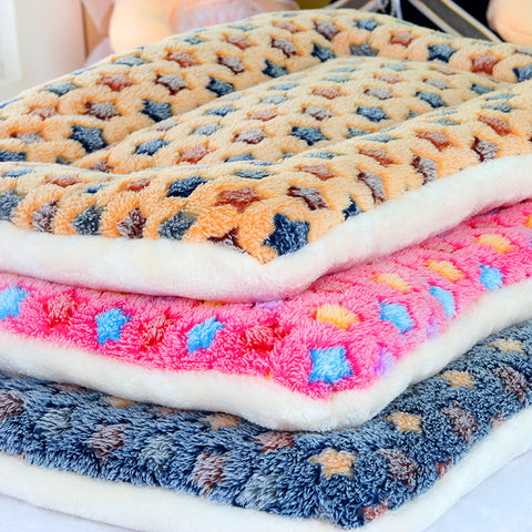 Dog Blanket Fleece Pet Blanket For Dogs And Cats Bed For Big Dogs Leopard Print Cat Mat