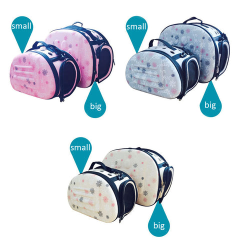 Dog Travel Folding Breathable Pet Bag One Shoulder Out Bags Portable Luggage Cat Pack