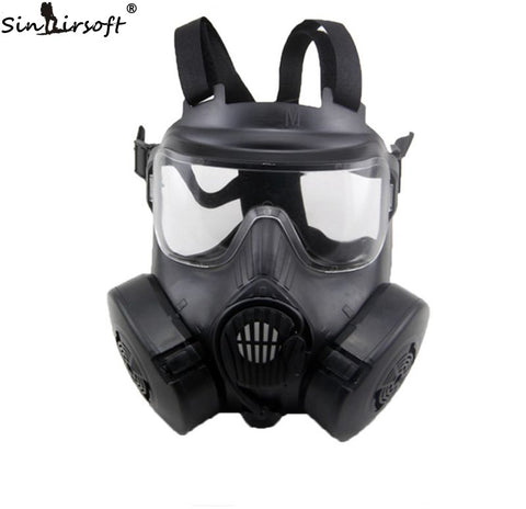 Durable M50 DC-15 Respirator Gas Mask Style Mask With 2 Fliters Fan Mask .
