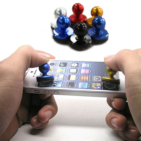 Durable Phone Accessories Suction Cup Stick Game Joystick Joypad For ipad Touch Screen