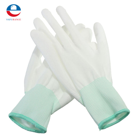 Durable Quality 1 Pair PU For Palm Coated Precision Protective Safety Anti Static Work