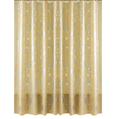 Europe Eco-friendly PEVA Bath Curtains Flower Mold Proof Waterproof Shower Curtain