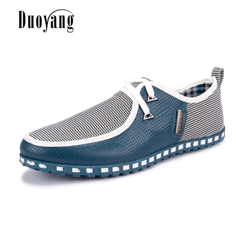Fashion Driving Shoes Men Flats Slip On Loafers Flat Shoes Men Casual Shoes plus size