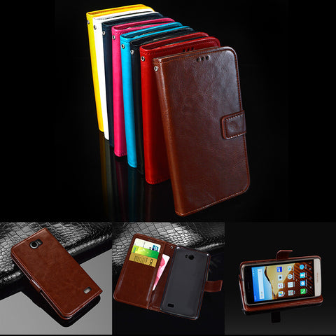"Flip Skin Case For TP-LINK Neffos C5 case 5"" leather wallet pouch Capa For TP-LINK"