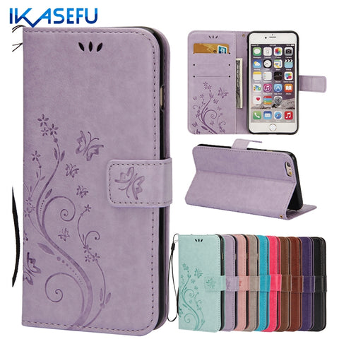 For Coque iPhone 4 Case Stand Wallet Leather Case for iPhone 4S 4 Flip Cover Capas for