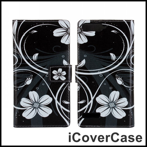 For Huawei Ascend P7 Mini Case Fundas Coque Cover for Huawei Ascend G6 4G LTE Shell Flip