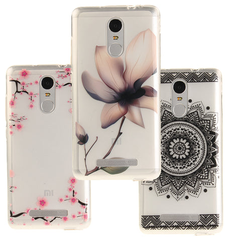 For Xiaomi Redmi Note 3 4 Pro Prime Case Coque Silicone Cover Case Fundas Xiomi Redmi Note