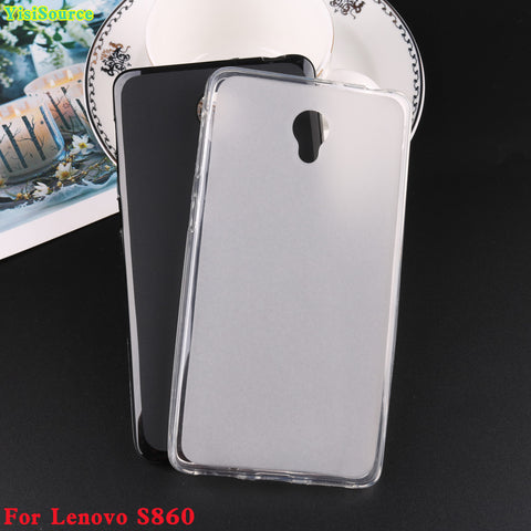 For lenovo s860 case silicone gel protect skin rubber for Lenovo S860 cover soft tpu phone