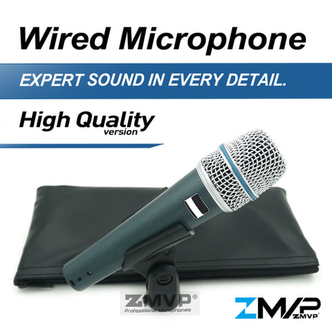 Free High Quality Version B 57 A Professional Supercardioid Handheld Dynamic 57A Wired