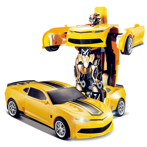 Free shipping TT661 671 Robort Bumblebee Transformation Remote Control RC Car Off-Road