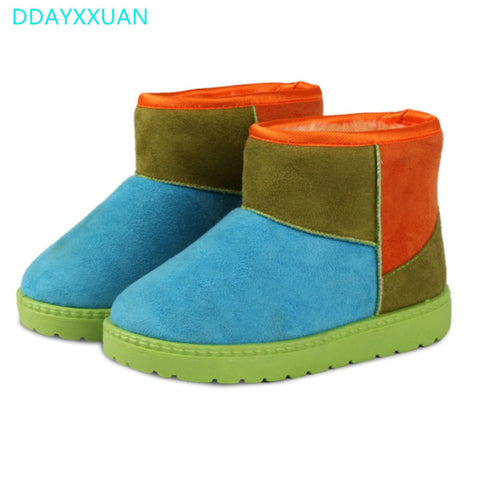 Boots for Girls Girls Boots New Winter Kids Snow Boots for Girl Baby Winter Shoes Children Boots Warm
