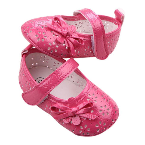 Girls ' Sandals Baby Hollow Bow Princess Princess Sandals Toddler Kids Baby Cute Solid
