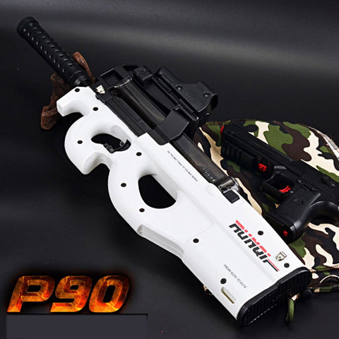 Graffiti Edition P90 Electric Toy Gun Soft Water Bullet Funny Outdoors Children Baby Toy