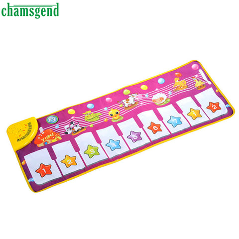 HOT Musical Music Touch Play Singing Gym Carpet Mat Toy Gift AUG 30 .