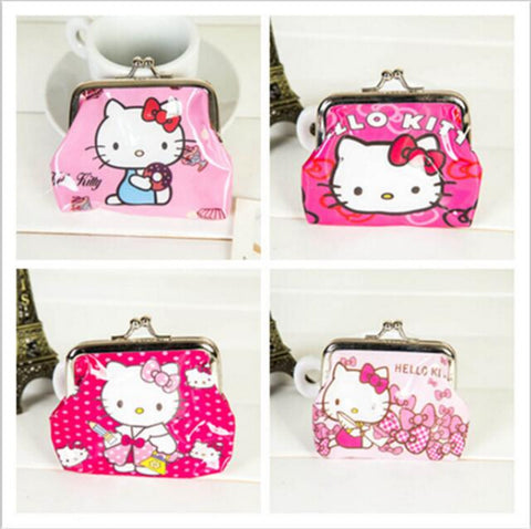 Hello Kitty Wallet Mini Coin Purse Cheap Mini Wallets NO Mini Order 1PC Lowest Price