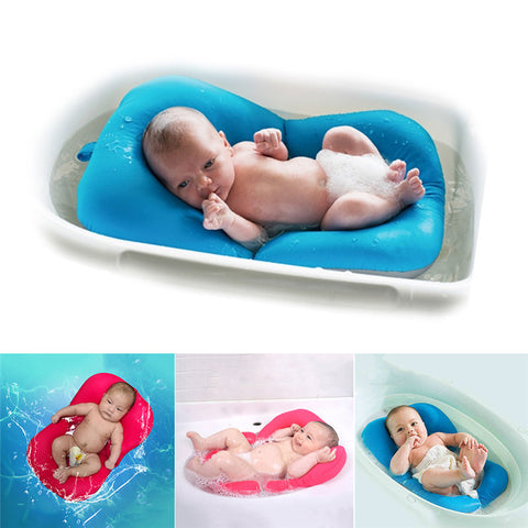 High Quality Anti-skid Baby Bathing Mat Baby Bathtub Shower Bed Non-Slip Security Baby