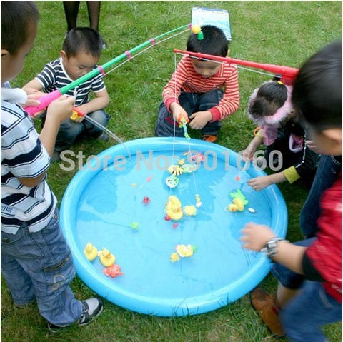 Hook A Duck Party Game Includes Inflatable Duck Pond Fishing Rod Five Ducks .