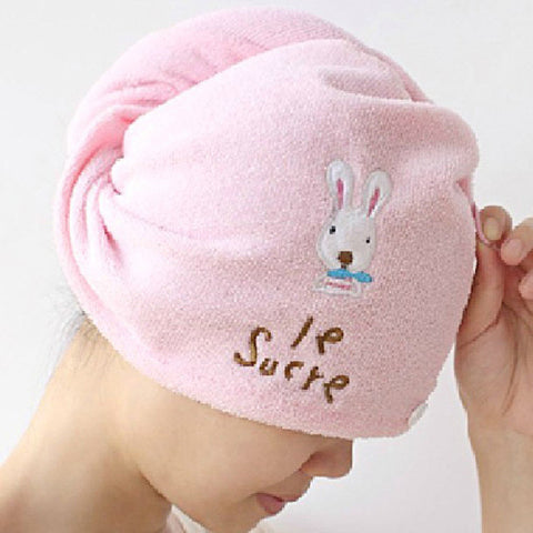 Hot Household Super Cartoon Waterproof Shower Caps Women Bath Spa Caps Elastic Hats Warm