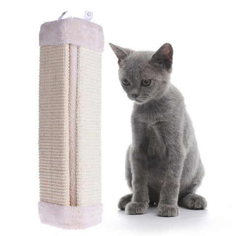 Hot Sale Cat Pet Kitten Wall Corner Scratching Scratch Board Mat Post Tree Scratcher Sisal