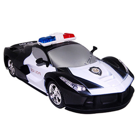 High Quality Remote Control Car 1:24 Model 2 Channels Police RC Car For