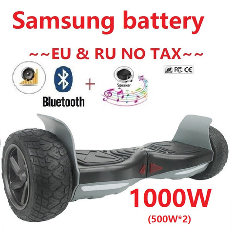 Hoverboard Hummer Samsung battery Electric self balancing scooter 2 wheel skateboard