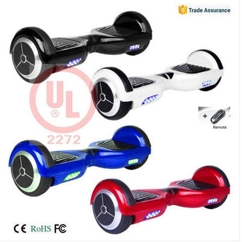 Hoverboard with Two Wheels Smart Self Balancing Scooter .
