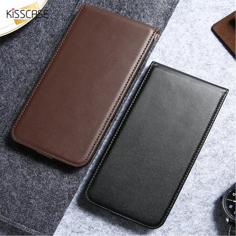 KISSCASE For Samsung Galaxy S3 S4 S5 Leather Phone Case For Samsung Galaxy S8 Plus S7 S6