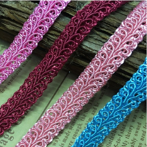 Lace Polyester nylon centipede side of the word side of the word with lace ribbon clothing