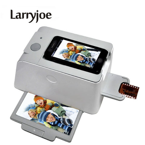 Larryjoe New High Quality Portable Smartphone Photo Scanners Mobile phone Film Scanner