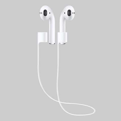 Lost anti-strap for apple iphone 7 airpods prevent loss of cable silica gel device