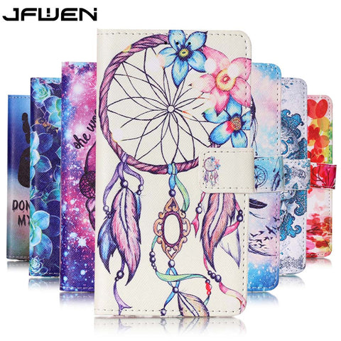 Luxury Colourful Pattern Wallet Flip Case For Coque Samsung Galaxy G530 Leather Cover
