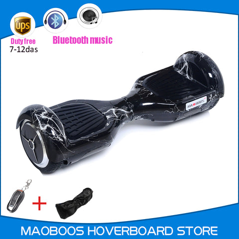 MAOBOOS M3 Gyroscope electric Hoverboard Self balance Hover board 6.5 inch smart UL2272