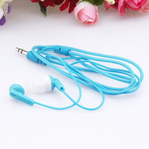 MOONBIFFY A Quality Hot Sale 3.5mm Headsets Earphones Stereo Earbuds for mobile phone